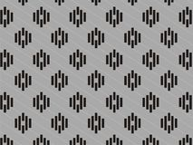 netter grauer 2 Farbstreifenhintergrund stockfotos