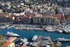 Netter Hafen, Frankreich Stockbild