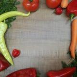 Netter Hintergrund für das Kochen von Rezepten stockbild