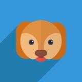Netter Hund Stockbild