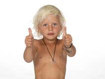Netter, junger Junge Stockfotografie