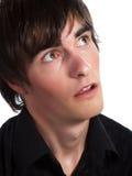 Netter Kerl ist bewundern Lizenzfreies Stockfoto