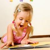 Netter Kindmesswert Lizenzfreie Stockbilder