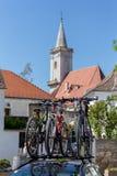 Netter kleiner österreichischer Dorf Rost Lizenzfreie Stockbilder