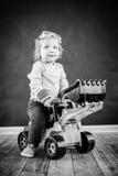 Netter kleiner Ingenieur Lizenzfreies Stockfoto