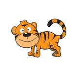 Netter kleiner Tiger Lizenzfreie Abbildung