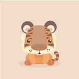 Netter kleiner Tiger Stockbilder