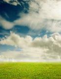 Netter Landschaftshintergrund Stockbilder