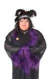 Netter Mann, Dragqueen, in einer weiblichen Klage Stockfoto