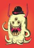 Netter Monster-Vektor Lizenzfreies Stockbild