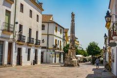 Netter Platz in Cordoba Spanien stockfotografie