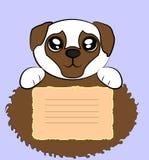 Netter Pug Lizenzfreies Stockfoto