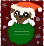 Netter Pug Lizenzfreies Stockbild