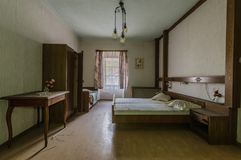 netter Raum in einem Hotel stockfoto