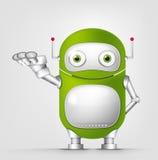 Netter Roboter Stockbild