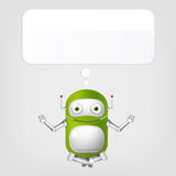 Netter Roboter Stockbilder