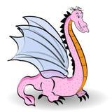 Netter rosa Drache Lizenzfreies Stockbild