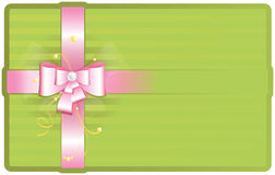 Netter rosafarbener Bogen Lizenzfreie Stockfotos