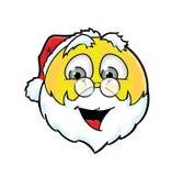 Netter Santa Claus-smiley Lizenzfreie Stockbilder