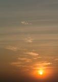 Netter Sonnenunterganghimmel Lizenzfreie Stockfotografie
