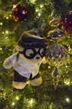 Netter Teddy Bear Christmas Tree Stockbild