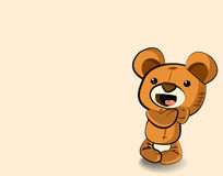 Netter Teddybär vektor abbildung