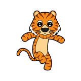 Netter Tiger Lizenzfreies Stockfoto