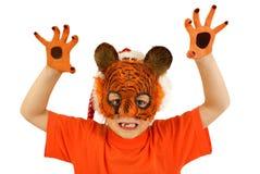 Netter Tiger stockbilder