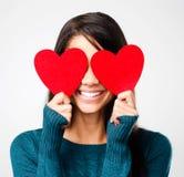 Netter Valentinsgrußtag stockbild
