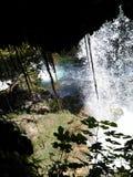 Netter Wasserfall in Antalya Lizenzfreies Stockbild