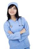 Netter weiblicher Chirurg lizenzfreies stockfoto