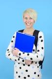 Netter weiblicher Kursteilnehmer Lizenzfreie Stockfotografie