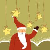 Netter Weihnachtsmann Stockfotos