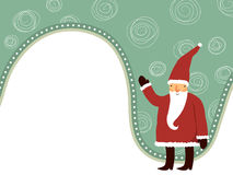 Netter Weihnachtsmann Stockfotografie