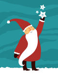 Netter Weihnachtsmann Stockbild