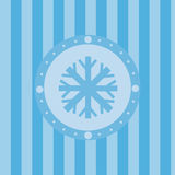 Netter Winterhintergrund stock abbildung