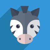Netter Zebra Lizenzfreie Stockfotografie