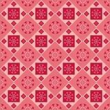 Nettes abstraktes Blumenmuster lizenzfreie abbildung