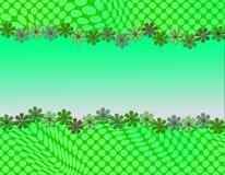Nettes abstraktes Design mit der Gänseblümchengestaltung Lizenzfreie Stockbilder