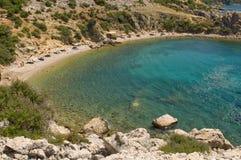 Nettes adriatisches Meer. Kroatien. Istria. Lizenzfreie Stockfotografie