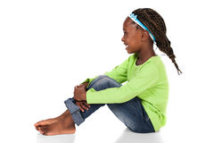 Nettes afrikanisches Mädchen Stockfotografie