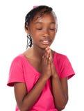 Nettes afrikanisches Mädchen Stockbilder