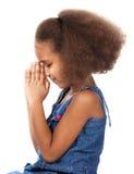 Nettes afrikanisches Mädchen Lizenzfreies Stockfoto