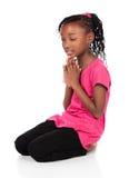 Nettes afrikanisches Mädchen Stockbild