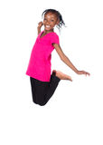 Nettes afrikanisches Mädchen Lizenzfreie Stockfotografie