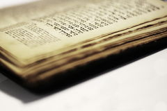 Nettes altes jüdisches Buch Stockfotos