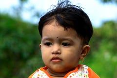 Nettes asiatisches Baby Stockfoto