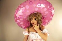 Nettes asiatisches Mädchen lizenzfreies stockfoto