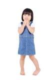 Nettes asiatisches Mädchen Stockfoto
