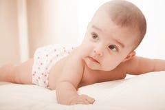Nettes Baby Stockfoto